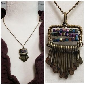 """Jewelry - Beautiful Aztec Inspired Necklace 18"""""""